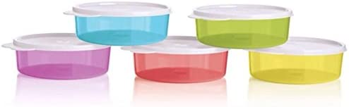 Tupperware Big Wonder Bowls in Set of 5 Multi Free shipping depot New Color