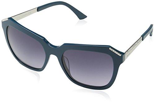 Swarovski Sunglasses Sk0115 87B-55-18-140 Gafas de sol, Azul (Blau), 55 para Mujer