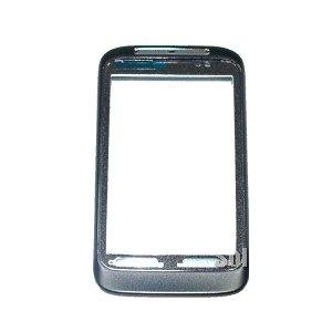 HTC Wildfire S Front Cover Oberschale Schale Gehäuse Bezel black Original Neu