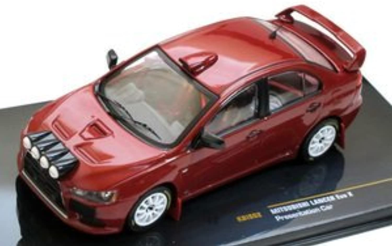 IXO 1 43 Mitsubishi Lancer Evolution X presentation (japan import)