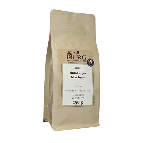 BURG Kaffee Hamburger Mischung Gewicht 1000 g, Mahlgrad ungemahlen