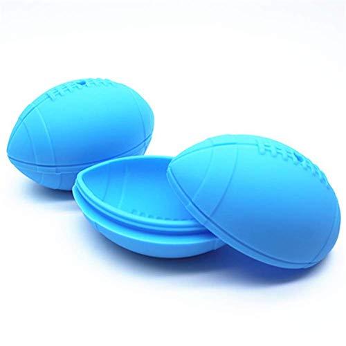 Ice Maker Trays Ice Mold Lade Siliconen Whiskey Voor Babyvoeding Food-Grade Voor Zomer Stapelbaar Gift Voor Vriezer Cool blue
