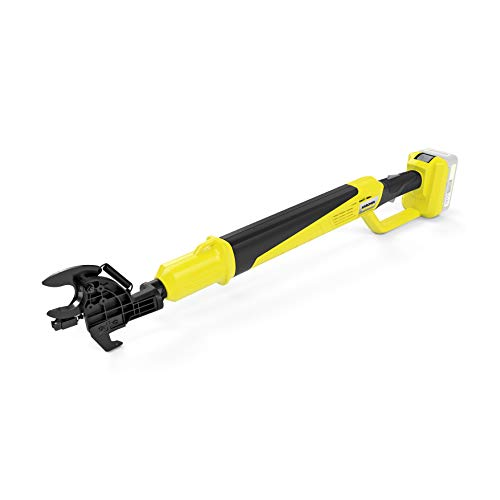 Kärcher 18 V Akku-Astschere TLO 18-32, Bypassklinge, Asthaken, Schnittkraft: 250 Nm, max. 3 cm Ast-Durchmesser, Länge: 0,91 m, verwendbar mit dem Kärcher 18-V-Akku, ohne Akku