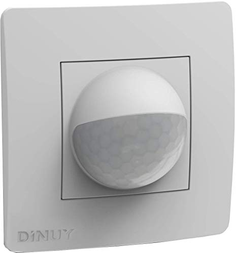 Dinuy - Detector movimiento para bus knx montaje caja mecanismo...