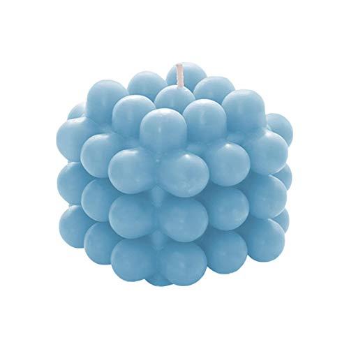 Vela de aromaterapia con Forma de Cubo de Bolas, excelente diseño 3D Cubo de 9 Bolas Cera de Soja Vela perfumada ecológica sin Humo Regalo para decoración de Regalo de San Valentín