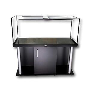 Diversa AQUARIUM WITH STAND/CABINET Professional Fish Tank – Real Original Guardian Glass, Standard Rectangle (300 Litre Aquarium)