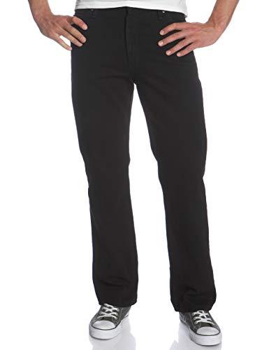 LEE Men's Regular Fit Straight Leg Jeans Thunder Char 32