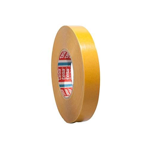 Tesa 4970 | Doppelseitiges Klebeband aus PVC | Montageklebeband | Breite wählbar | 50 m auf Rolle | Stark permanent klebend | Universalklebeband zum Montieren, Befestigen, Fixieren / 6 mm