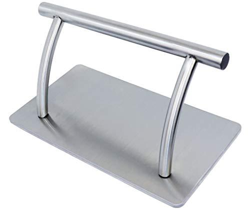 Antlu Fußstütze aus Edelstahl, für Friseursalon, für Beauty-Master Spa Styling, Friseurstuhl (S)