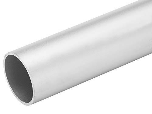 "4 FT - 1"" Diameter x .050"" Wall Aluminum Tubing 6063 Alloy T-6 Temper Clear Anodized"