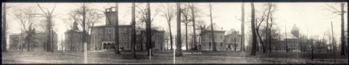 "Historic Photos c1909 Wabash College 48"" Vintage Panorama Photo"