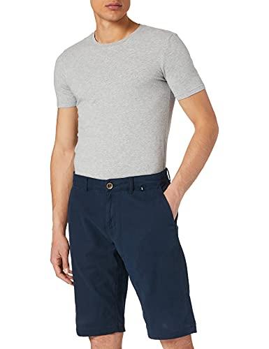TOM TAILOR Herren 1026184 Josh Chino Bermuda Shorts, 10302-Dark Blue, 38