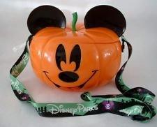 Disney Parks 2017 Mickey Jack O Lantern Popcorn Souvenir Bucket