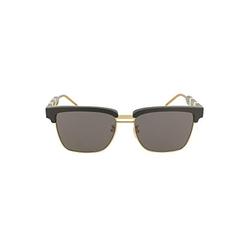 Gucci GG0603S Sunglasses 001 Black/Grey Lens 56MM