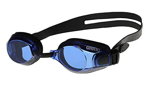 Arena ZooX-Fit, Occhialini Unisex Adulto, Multicolore (Black/Blue/Black), Taglia Unica