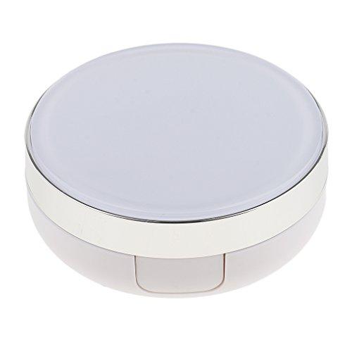 perfeclan Bricolage Vide Air Cushion Puff Blender Box BB Crème Conteneur Pansement - Blanc