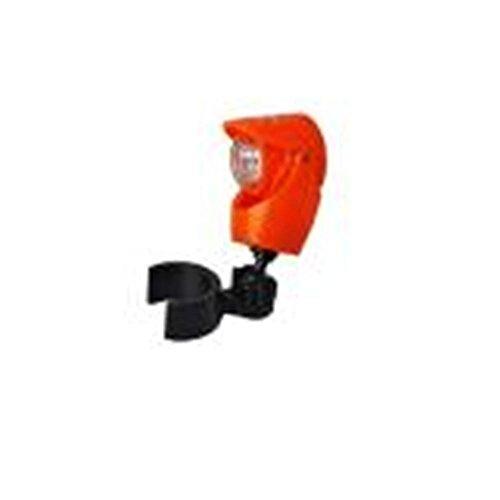 ZHIYUAN Bouclier-mini a conduit la famille de bouton éclairage d'urgence nuit parapluie lumineux liseuses, white (no package)