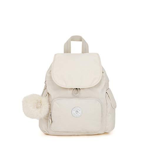 Kipling City Pack Mini, Sacs à dos femme, Blanc (Dazz...