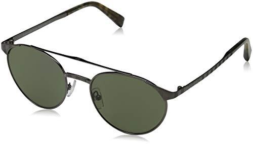 Ermenegildo Zegna EZ0026 Gafas de sol, Gris (Anthracite LucVerde), 52.0 Unisex Adulto