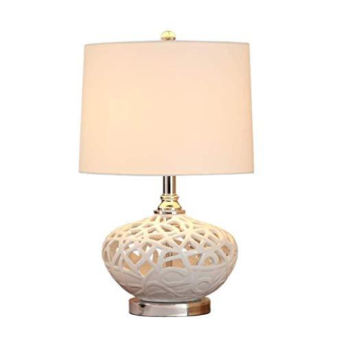 YWSZJ Retro lámpara de Mesa de cerámica, hogar Creativo Sala Tabla Dormitorio de la lámpara lámpara de cabecera