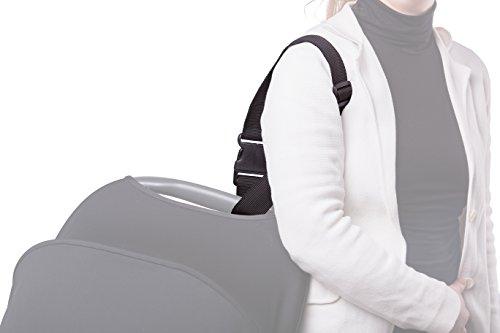 Sunnybaby 10044 draagriem SUNNY-SAFE voor babyschalen, zwart - extra sterk - Kwaliteit: MADE IN GERMANY