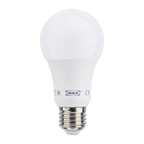 LEDARE - LED-lamp E27 600 lm, dimbaar, bol rond opaalwit