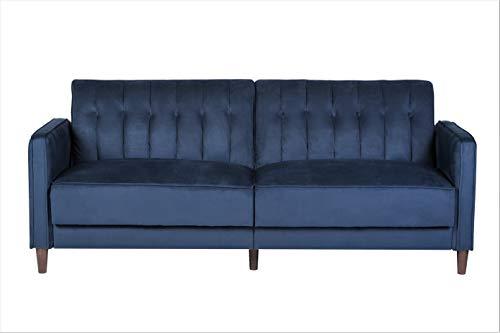 US Pride Furniture Grattan Luxury Sofa Bed Dark Blue