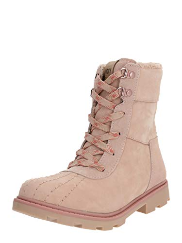 Roxy (ROY11) Meisa-Waterproof Winter Boots for Women, Stivali Arricciati Donna, Blush Bsh, 41 EU