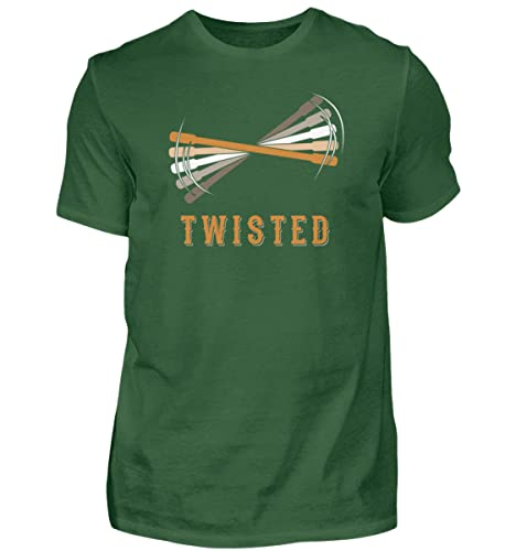 Pentricks Penspinning Thumbaround - Camiseta para hombre, Verde Oscuro Bottle Green, XXXXXL