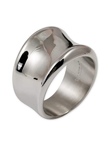 Fly Style Anillo Mujeres Acero Inoxidable | 17 mm