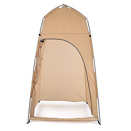 Rahmen Zelte Outdoor-Zubehör änderndes Zelt Dusche Strand-Zelt Multifunktionale Bequeme im Freienzelt Ideal für Camping Wandern Außen (Color : Yellow, Size : 1 Persons)