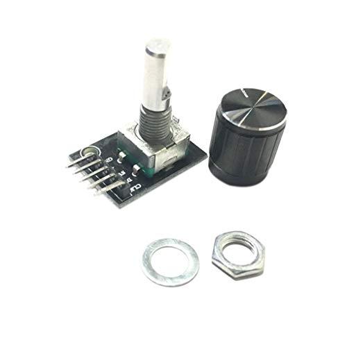 Idyandyans 360 Gradi di modulo Encoder Rotante di Ricambio per Sensore Brick Arduino Interruttore Development Board KY-040 DIY elettronico