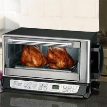 Cuisinart Convection/Broiler Toaster Oven Total Touch Touchpad Controls, Exact HeatTM Sensor and Automatic Shutoff