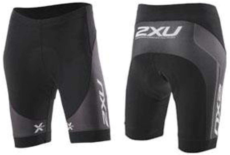 2XU Women's Cycle Sub Shorts Black Charcoal Small