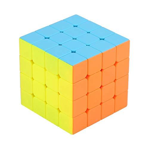 Cubo M¨¢gico, Durable Suavemente Ajustable 4x4x4 Speed Cube Twist Twist 3D Puzzle Cube Versi¨®n Mejorada 62mm