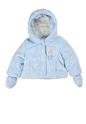 Kanz Jacke M. Kapuze + Abnehmbaren Fäustlingen Blouson, Bleu (Bright Blue Blue 3636), FR: 6 Mois (Taille Fabricant: 68) Mixte bébé