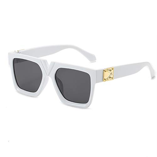 GAOTIAN Gafas de Sol Unisex Fashion Damas Square Square Gafas de Sol Mujeres Goggle Shades Vintage Oversized Sun Glasses UV400