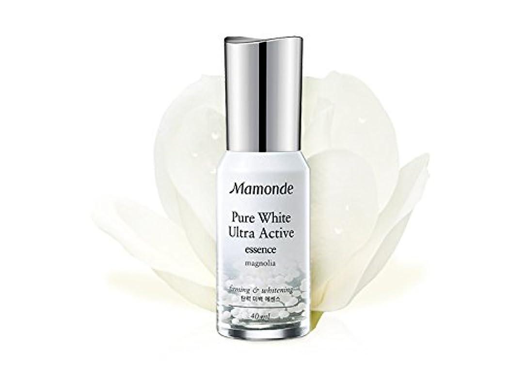 [MAMONDE/マモンド] Pure White Ultra Active essence/ピュアホワイトウルトラアクティブエッセンス セラム 美容液 お肌 スキンケア SkinGarden/スキンガーデン