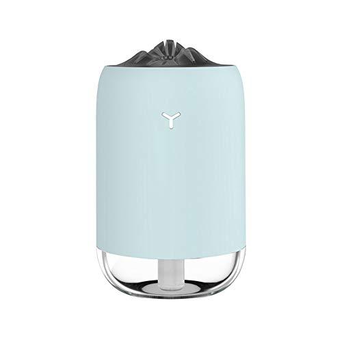 Humidificadores para dormitorio, humidificador de aire silencioso, humidificador de aire ultrasónico hogar aromaterapia difusor de aceite esencial (verde)