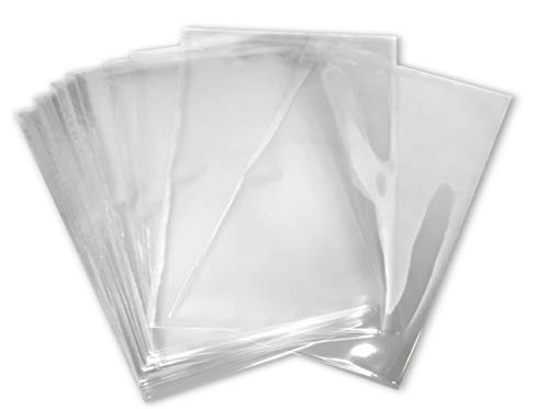 6x6 inch Odorless, Clear, 100 Guage, PVC Heat Shrink Wrap Bags for Gifts, Packagaing, Homemade DIY Projects, Bath Bombs, Soaps, and Other Merchandise (200 Pack) | MagicWater Supply