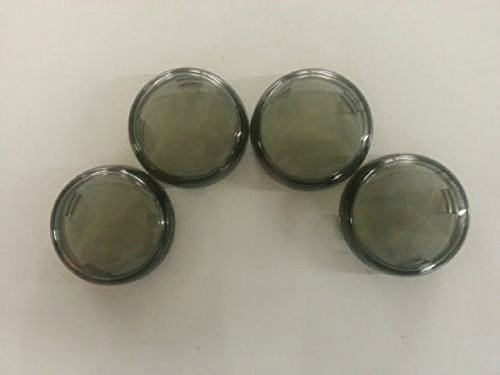 Orange Cycle Parts Smoke Turn Signal Lens Set (4) for Harley Breakout FXSB repl. OEM# 68973-00