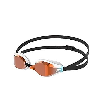Speedo Fastskin Speedsocket 2 Gafas de Natación, Unisex Adulto, Blanco/Mirror, Talla Única