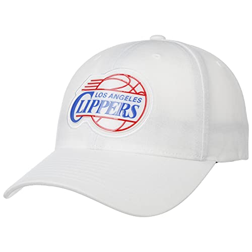 Mitchell & Ness Prime Low Pro Snap Clippers Cap Basecap Baseballcap Curved Brim MLB Los Angeles (One Size - weiß)