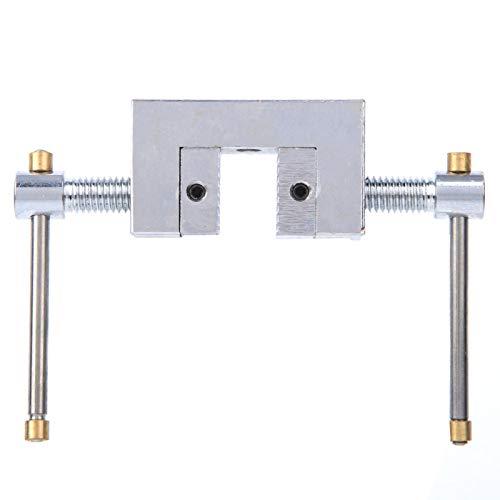 Pinza para medidor de Empuje-Samfox Pinza para medidor de tensión Pinza para Dientes Rectos Pinza para micrómetro Accesorio para micrómetro