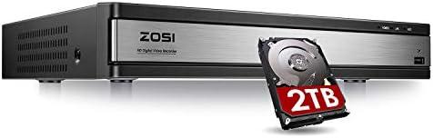 ZOSI 1080p Lite 16 Channel Security DVR Recorder H 265 Hybrid 4 in 1 Analog AHD TVI CVI CCTV product image
