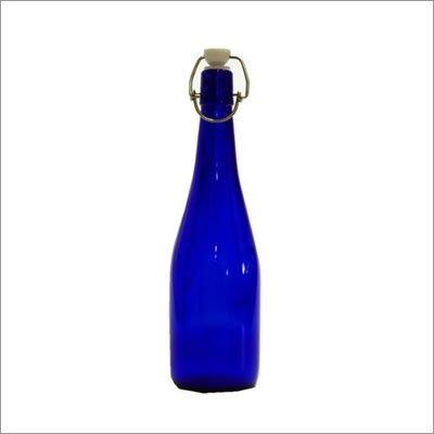 ブルー/アンカートップボトル(機械瓶)1本