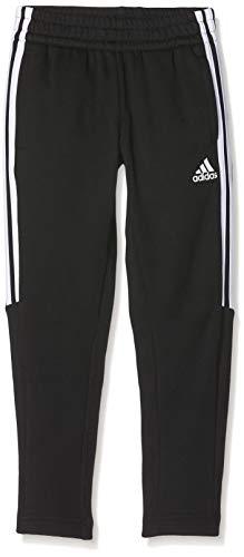 adidas Jungen Trainingshose Must Haves 3-Streifen, Black/White, 134, DV0792