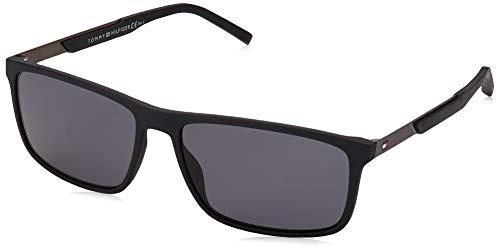 Tommy Hilfiger TH 1675/S gafas de sol, MTT NEGRO, 59 para Hombre
