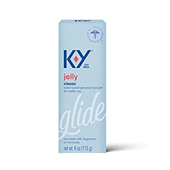 K-Y Jelly Premium Water Based Lube- Personal Lubricant Safe To Use With Latex Condoms Devices Sex Toys and Vibrators 4 oz.