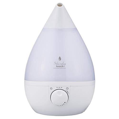 アピックス 超音波式加湿器 SHIZUKU touch+ ホワイト FSWD9109WH